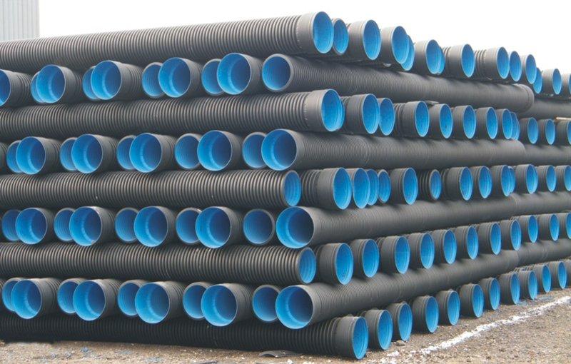 HDPE波纹管材 承德HDPE波纹管材 承德化粪池建材批发站图片